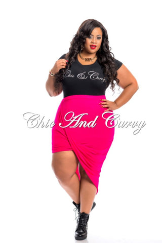 Final Sale Plus Size Scuba Mermaid Skirt in Camouflage Print
