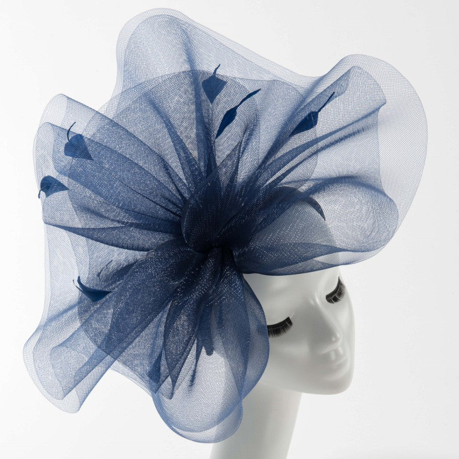 Final Sale Fascinator Dressy Hat in Navy