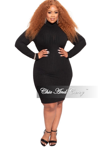 Final Sale Plus Size Midi Length Lace Dress in Black with Tulle in White