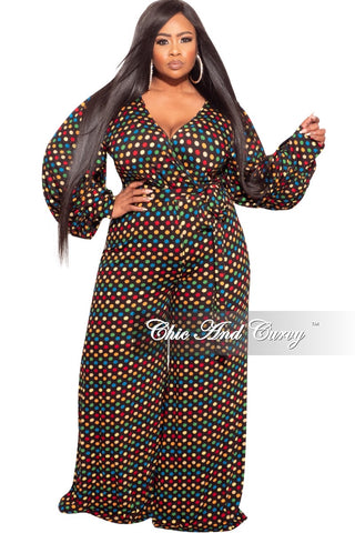 Final Plus Size Pants Suit in Yellow and Black Snake Skin