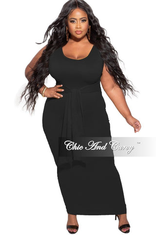 New Plus Size Strapless Harem Jumpsuit in Royal Blue