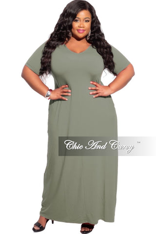 New Plus Size Off the Shoulder Bishop Sleeve Dress in Grey Animal Print