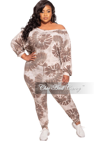 Final Sale Plus Size Faux Sequin 2-Piece Jacket & High Waist Pants Set in Silver