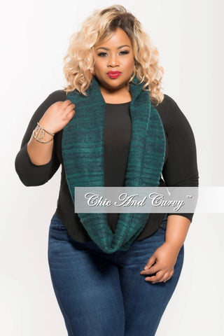 Final Sale Scarf in Blue Green