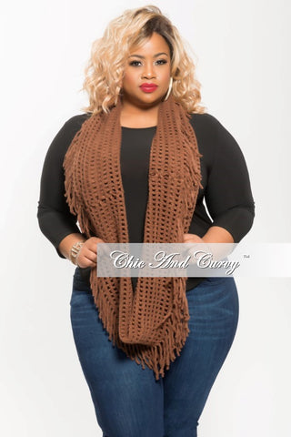 Final Sale Scarf in Brown