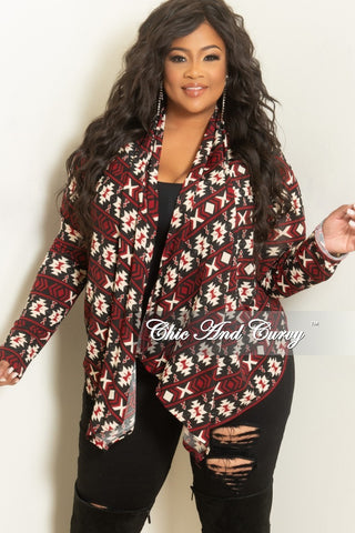 Final Sale Plus Size Sweater Cardigan in Teal with Sequins One Size