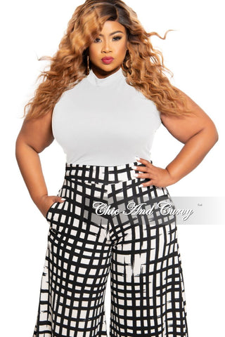 New Plus Size Peplum Top with Faux Wrap and Side Tie in Red and Black Stripe