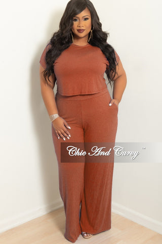 New Plus Size 2-Piece Jacket and Pants Suit in Mustard Rose Print