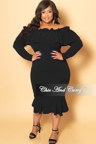 New Plus Size BodyCon Peplum Dress in Cheetah Print