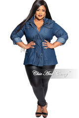Final Sale Plus Size Leggings in Black Liquid
