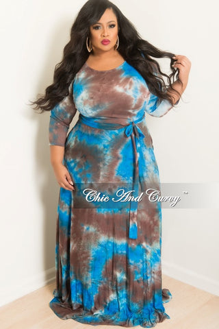 New Plus Size Long Wrap Dress W Tie In Purple Chic And Curvy