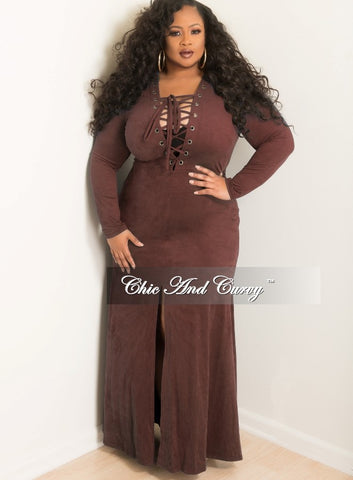 Final Sale Plus Size BodyCon Dress with Attached Belt in Black