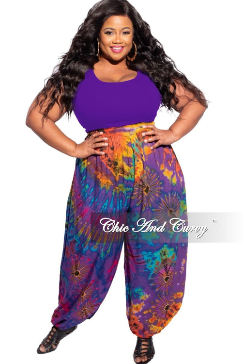 New Plus Size Ribbed Racerback Tank Camisole in Purple, Hot Pink, or Green