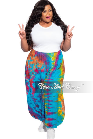 Final Sale Plus Size Button Tie Balloon Dress in Black & Off White Design