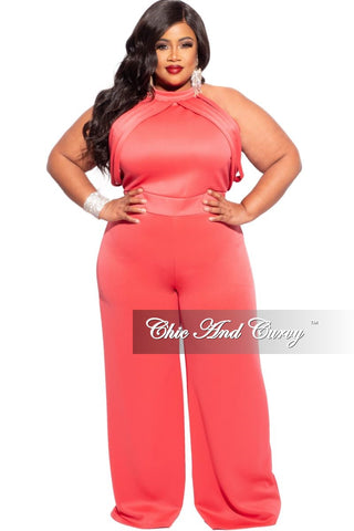 Final Sale Plus Size 2-Piece Pleated Faux Wrap Bow Tie Top and Skirt Set in Magenta