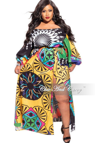 New Plus Size Reversible BodyCon Dress in Multicolor Stripes