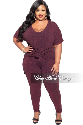 Final Sale Plus Size Knitted High-Low Top in Hot Pink