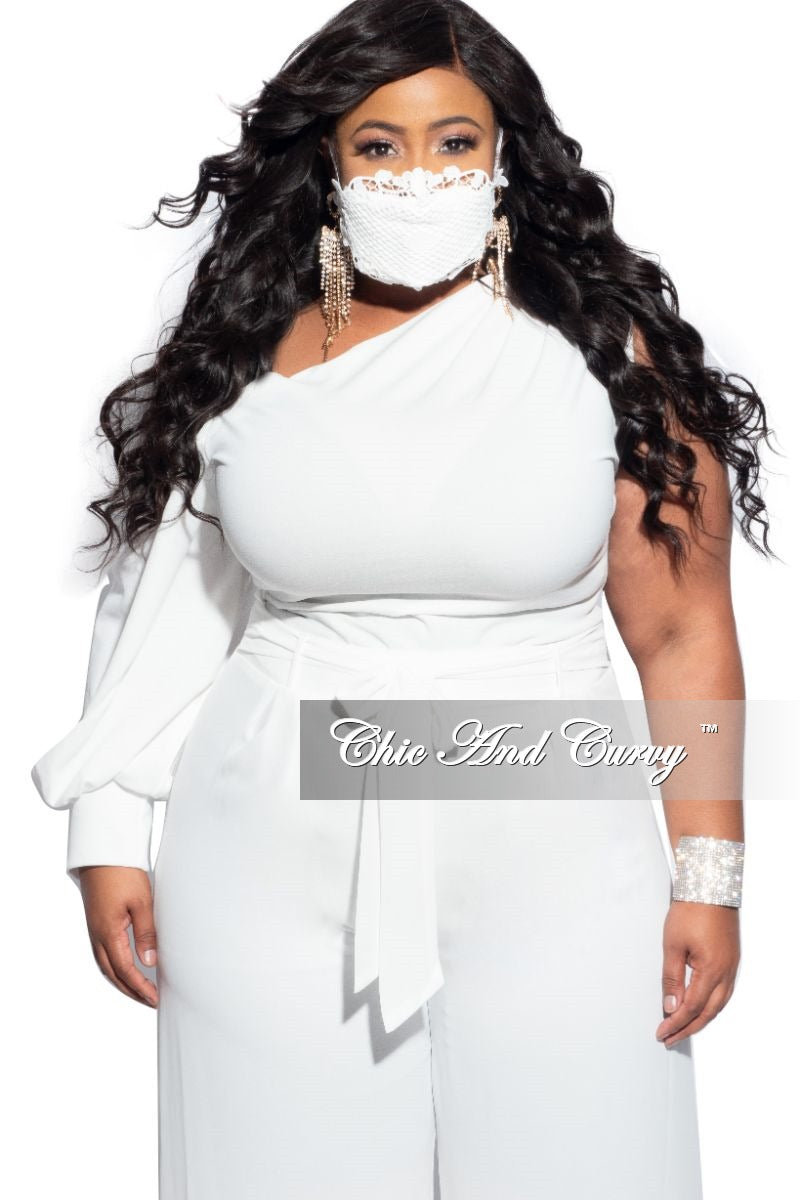 Final Sale Lace Mask in Ivory or Black