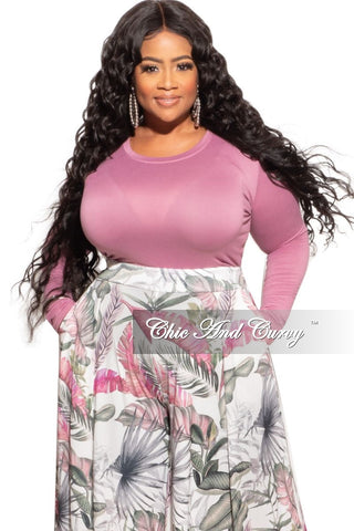 New Plus Size Draped Oversized Tunic Top in Baby Blue- One Size Fits Most