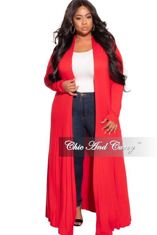 New Duster in Red