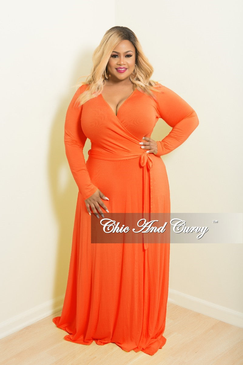 Plus Size Orange Dresses | Best Dresses 2019