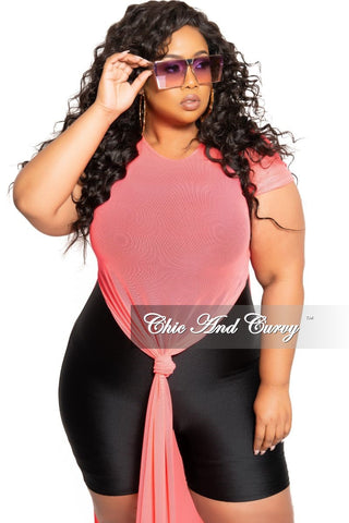 Final Sale Plus Size BodyCon Ribbed Knit Dress in Black