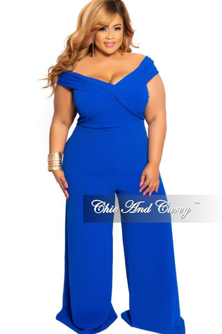 New Plus Size Ribbed 2-Piece Crop Tie Top and Pants Set in Purple Navy Red Mustard Stripe Print
