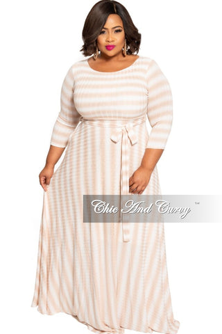 New Plus Size Faux Wrap Pocket Jumpsuit in Pink, Blue & White Tie Dye