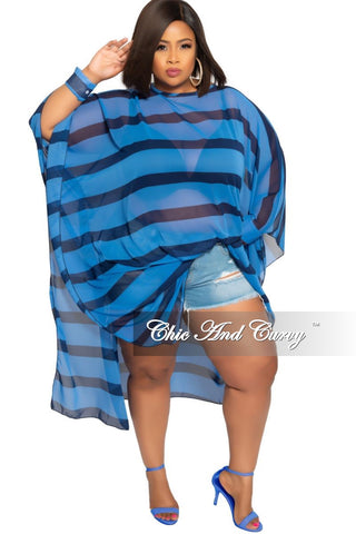 Final Sale Plus Size 2-Piece V-Neck T-Shirt and Bermuda Short Set in Black