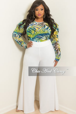 Final Sale Plus Size Palazzo Pants in White.   45.00. New Plus Size  Sleeveless Long Dress with Back Neck Tie . ea607a7d2cc0