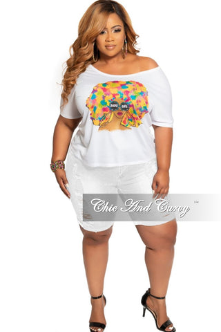 The Little Mermaid Dress - New Plus Size Off the Shoulder Maxi Dress with Front Keyhole and Drawstring in Multi Color Tie Dye Print
