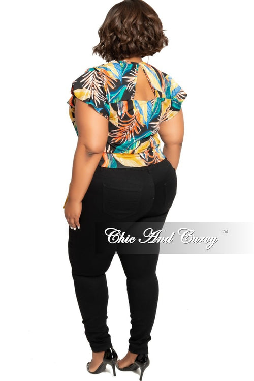 New Plus Size Jeans in Black