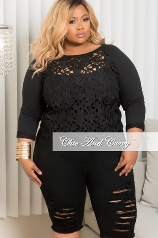 New Plus Size Off the Shoulder Peplum BodyCon Dress with Attached Tie in Black