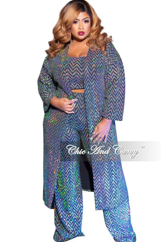 New Plus Size 2-Piece Top and Legging Set in Neon Green & Black Tie Dye