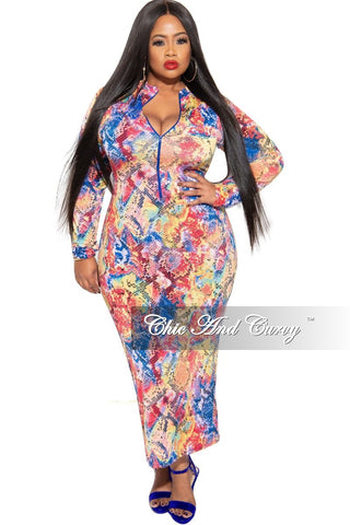 New Plus Size 2-piece Top and Pants Set in Pastel Leopard Print
