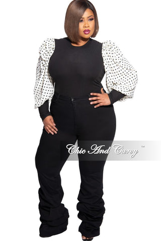 Final Sale Plus Size Collared Button Distressed Tie Jumpsuit in Denim