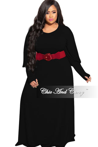 New Plus Size Long Pocket Dress with 3/4 Sleeves in Green Navy Magenta and Teal Stripe Print