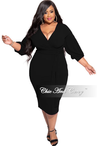Final Sale Plus Size Sequin Off the Shoulder Faux Wrap Jumpsuit with Attached Side Tie in Silver