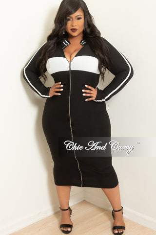 New Plus Size Tunic Dress In Black Chic And Curvy
