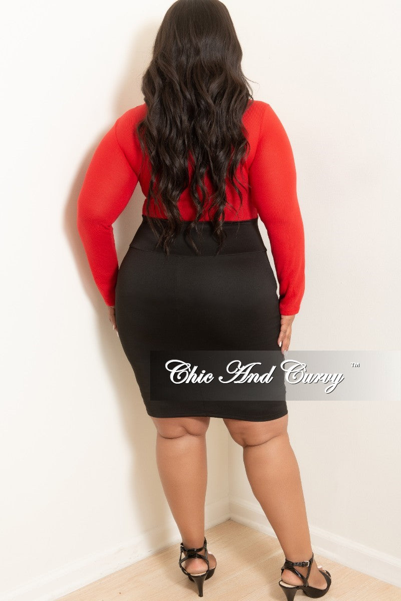 c026f4d51d1 Black Knee Length Skirt Plus Size - Gomes Weine AG