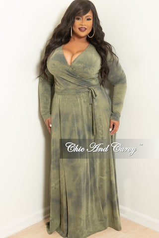 Final Sale Plus Size BodyCon in Vintage Wash w/ Sweetheart Neckline in Stars and Stripes (Seasonal item, final sale)
