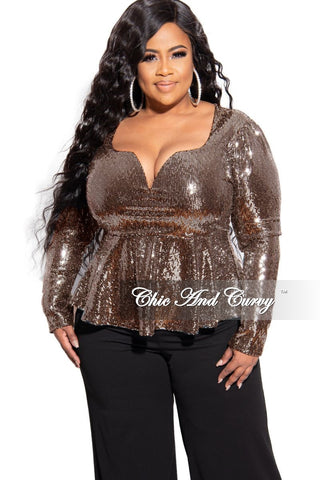 New Plus Size Off the Shoulder Keyhole Faux Wrap Top with Slit Sleeves in Black