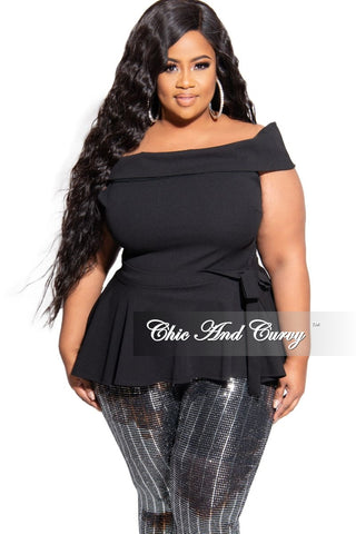Final Sale Plus Size Sheer Velour Faux Wrap BodyCon Mesh Dress with Attached Tie in Black