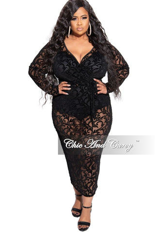 Final Sale Plus Size Reversible Long Sleeve BodyCon Dress in Multi Color Animal Print