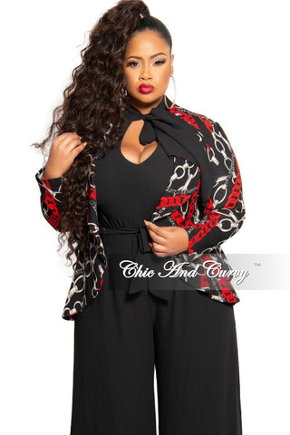 Final Sale Plus Size Denim Jacket in White