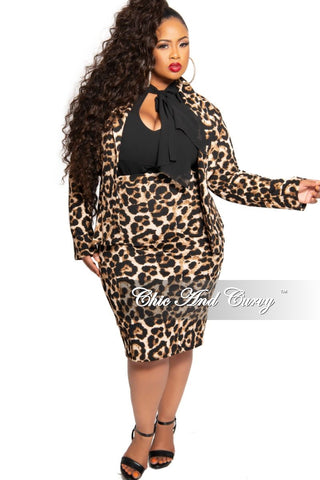 New Plus Size Long Sleeve Two-Tone BodyCon Dress with Tie in Pink and Fuchsia