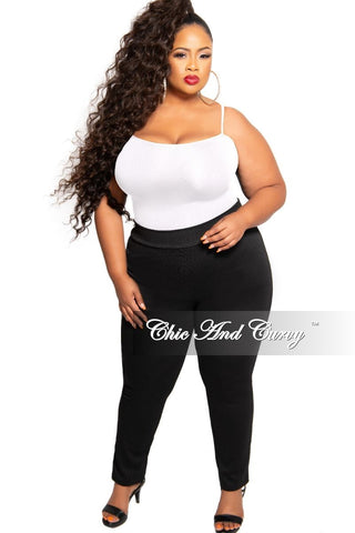 New Plus Size 2-Piece Cardigan and Legging Set in Black