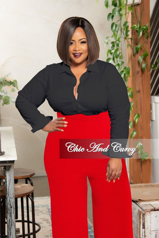Final Sale Plus Size Open Front Kimono Navy Blue and White
