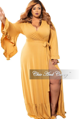 Final Sale Plus Size Spaghetti Strap Harem Dress in Red