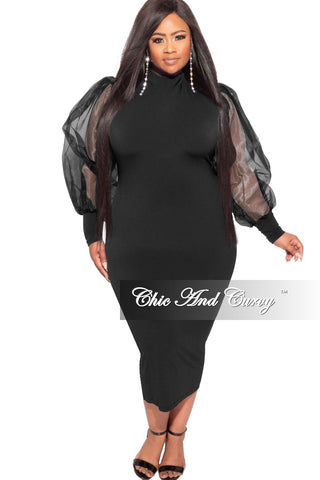 Final Sale Plus Size High Waist Faux Leather Pants in Black